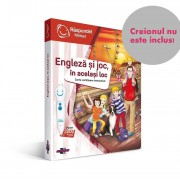 Carte Raspundel Istetel Engleza Si Joc In Acelasi Loc