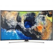 Televizor Smart LED Curbat Samsung 139 cm Ultra HD UE55MU6202, WiFi, USB, CI+, Black