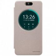 Husa Asus Zenfone Selfie (5.5 inch) ZD551KL Nillkin Sparkle S-View Flip Auriu