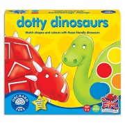 Orchard Toys Dotty Dinosaurs, Multi Color