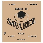 Savarez Strings 526R Bronze Classical Guitar Strings Medium