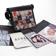 Personalised Shoulder Bag Flap with photo