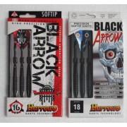 Harrows Black Arrow műanyag hegyes darts készlet SOFTIP