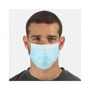 Disposable Medical Type IIR Face Mask 50 Pack Blue