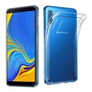 Husa Samsung Galaxy A7 2018 Super Slim 0.5mm Silicon Gel TPU Transparenta