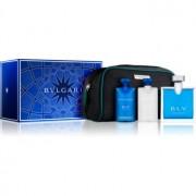 Bvlgari BLV pour homme lote de regalo V. eau de toilette 100 ml + bálsamo after shave 75 ml + champú y gel de ducha 75 ml + bolsita