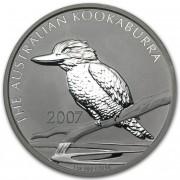 Kookaburra Stříbrná mince 1 AUD Australian Ledňáček 1 Oz 2007