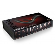 Fuzion Enigma - akkus, vízálló csiklókaros G-pont vibrátor (fekete)