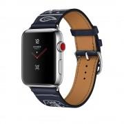 Умные часы Apple Watch Hermes Series 3 38mm with Single Tour Eperon d'Or Marine Gala Leather MQLN2