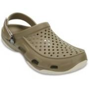 Crocs Men Brown Clogs
