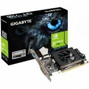 GIGABYTE Video Card GeForce GT 710 DDR3 1GB/64bit, 954MHz/1800MHz, PCI-E 2.0 x16, HDMI, DVI, VGA, Cooler, Low-profile, Retail GV-N710D3-1GL