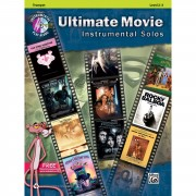 Alfred Music Ultimate Movie - Trumpet Instrumental Solos, Book/CD