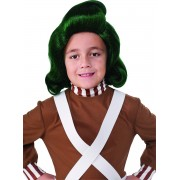 Peluca de Oompa Loompa Charlie y la Fábrica de Chocolate infantil