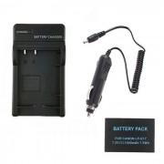 Bateria de las camaras digitales LPE17 1040mAh + cargador de coche para Canon EOS 750D M3