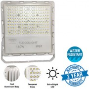 NISCO white led light flood light outdoor halogen lights bulb Water Resistant powerful 180 Watts 18 000 lm ultra thin 2