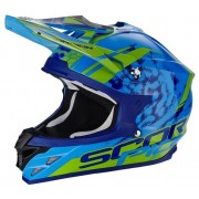 Scorpion VX 15 Evo Air Kistune Casca Motocross Marime L-XXL 57-60 CM