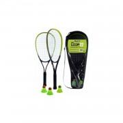 Stiga speed badminton set blauw 5-delig