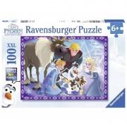 Ravensburger puzzle 100 pezzi disney frozen olaf 10730
