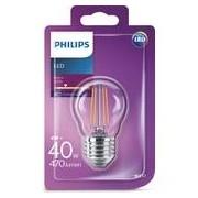 Philips LED FILAMENT KLOT PHILIPS KLAR 4W(40W) E27 2700K VARMVIT