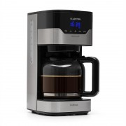 Klarstein Arabica 900W, aparat de cafea, EasyTouch Control, argintiu/negru (4060656104527)