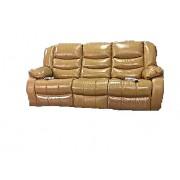 Canapea de 3 locuri Jadine cu 2 reclinere electrice si 2 sisteme de VibroMasaj