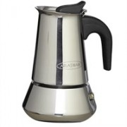 Atlasware 8904074200040 4 Coffee Maker(Silver)