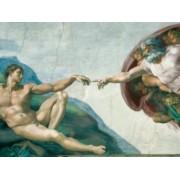 PUZZLE MICHELANGELO - CREAREA LUI ADAM 1000 PIESE Ravensburger