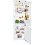 Combină frigorifică încorporabilă Liebherr ICN 3386, 248 L, NoFrost, SuperCool, SuperFrost, Display, Control electronic, Siguranţă copii, H 178 cm, Clasa A++