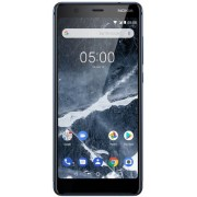 "Telefon Mobil Nokia 5.1 (2018), Procesor Octa-Core 1.2/2.0GHz, IPS LCD Capacitive Touchscreen 5.5"", 2GB RAM, 16GB Flash, 16MP, Wi-Fi, 4G, Dual Sim, Android (Albastru) + Cartela SIM Orange PrePay, 6 euro credit, 6 GB internet 4G, 2,000 minute nationale si"