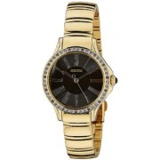 Seiko Quartz Brown Dial Women Watch-SRZ444P1