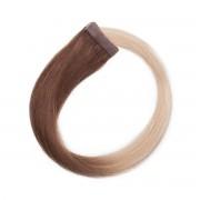 Rapunzel® Extensions Naturali Quick & Easy Original Liscio O5.1/10.8 Medium Ash Blond Ombre 60 cm