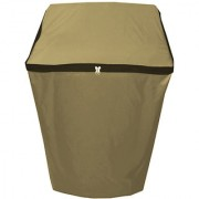 Glassiano beige Waterproof & Dustproof Washing Machine Cover for SAMSUNG Top loading fully automatic all models