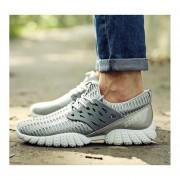 Zapatos Deportivos Fashion-Cool Para Hombre- Gris