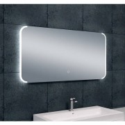 Wiesbaden Bracket dimbare LED condensvrije spiegel 120x60cm 38.3782