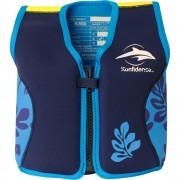 Konfidence - Vesta inot copii cu sistem de flotabilitate ajustabil The Original blue palm 6-7 ani
