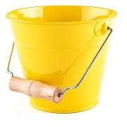Woody kerti vödör - citromsárga