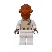 Figurine Légo Star Wars : L'amiral Ackbar