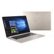 "ASUSTEK ASUS VivoBook S15 S510UA-BR427T ordenador portatil Oro Portátil 39,6 cm (15.6"") 1366 x 768 Pixeles 1,80 GHz 8ª generación de pro"
