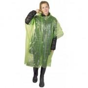 Geen Groene wegwerp regencapes