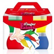 Vopsea pictura cu degetele, 4 culori
