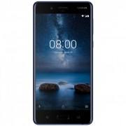 Telefon mobil Nokia 8, 64GB, 4GB RAM, Single Sim, Tempered Blue