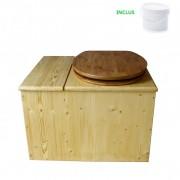 Toilette sèche - La Bac Bambou huilée