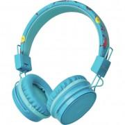Trust Comi Bluetooth fejhallgató - kék