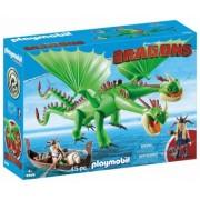 PlayMobil 5Ani+ DRAGONS - GEMENI CU BARF SI BELCH