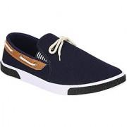 ShoetoeZ FIZZ Mens Casual Shoes Blue Canvas shoes Mens sneakers Size 7 - 10