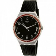 Ceas Swatch barbatesc rosu Wheel YWS417 negru Quartz