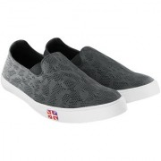 Blinder Grey Mesh Casual Mocassion Loafers Shoes For Men