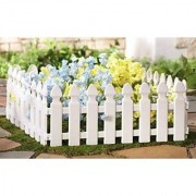 Wonderland Garden fence ( pack of 4) made of PP/PVC for your garden