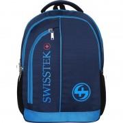 Swisstek Laptop Back Pack 25 L Laptop Backpack (Blue)