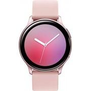 Samsung Galaxy Watch Active2 (Correa de Silicona + Bisel de Aluminio) Bluetooth Internacional (Oro Rosa, R830-40 mm)